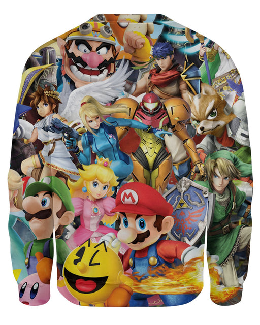 Super Smash Bros Brawl Sweatshirt
