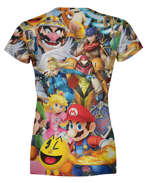 Super Smash Bros Ultimate Women's T-shirt