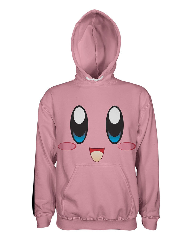 Kirby Face Pullover Hoodie