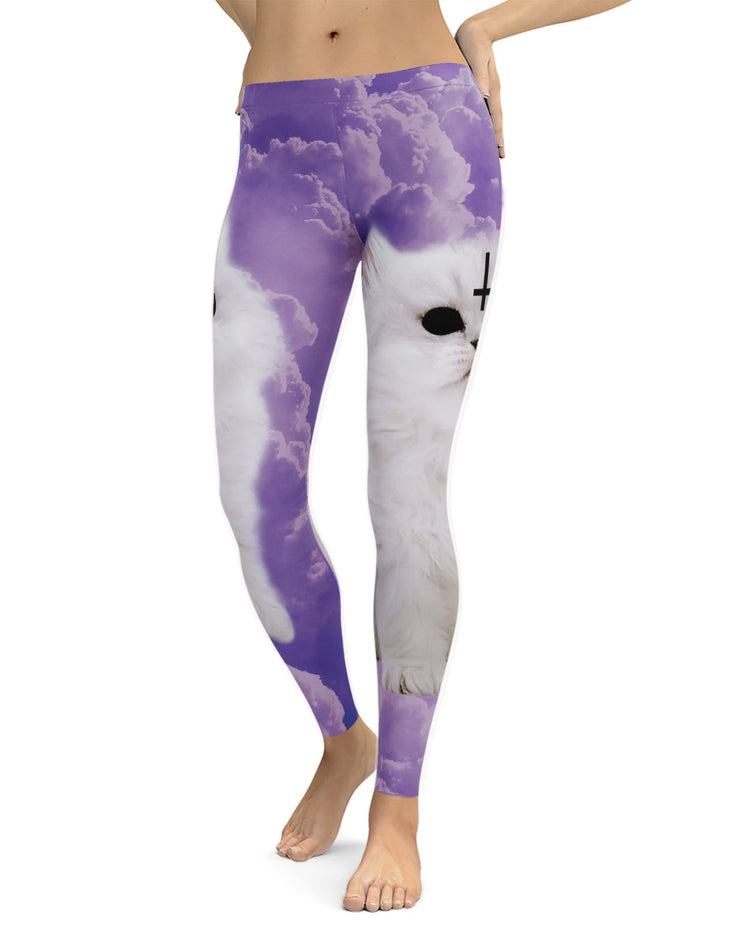 Satan Cat Leggings