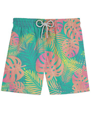 Pastel Tropical Athletic Shorts