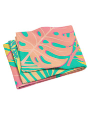 Pastel Tropical Beach Towel