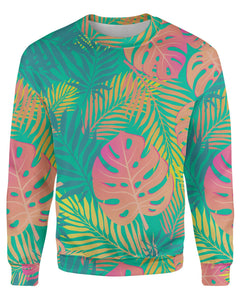 Pastel Tropical face printed all over in HD on premium fabric. Handmade in California