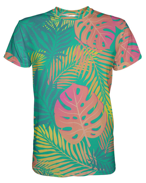 Pastel Tropical printed all over in HD on premium fabric. Handmade in California.