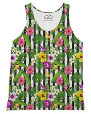 Tropical Stripes Vertical Tank-Top