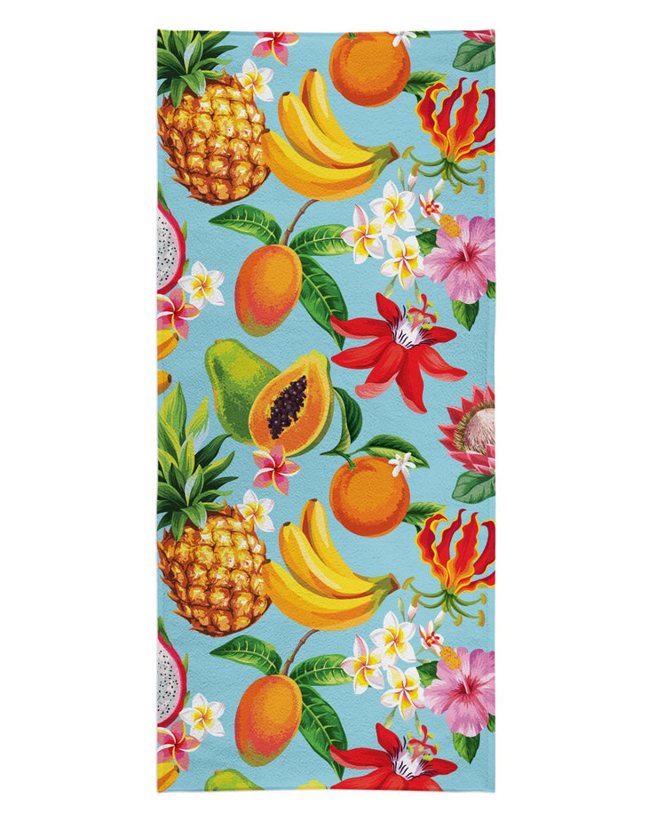 Tropical Fruit Beach Towel