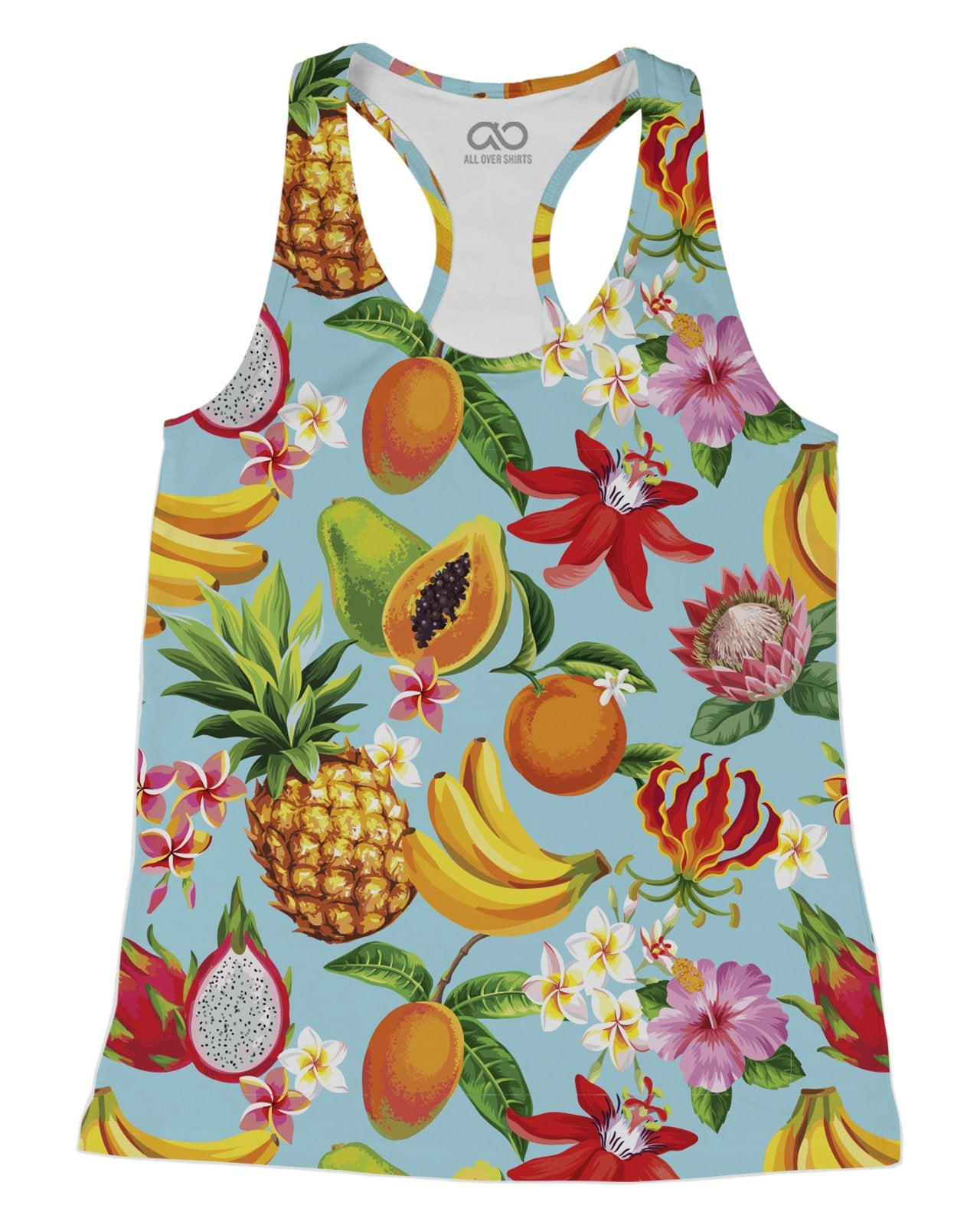 Tropical Fruit Racerback-Tank