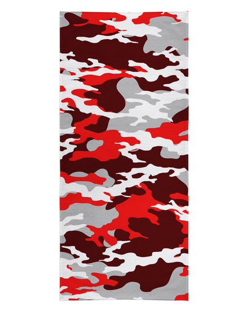 Los Angeles Camo Red printed all over in HD on premium fabric. Handmade in California.
