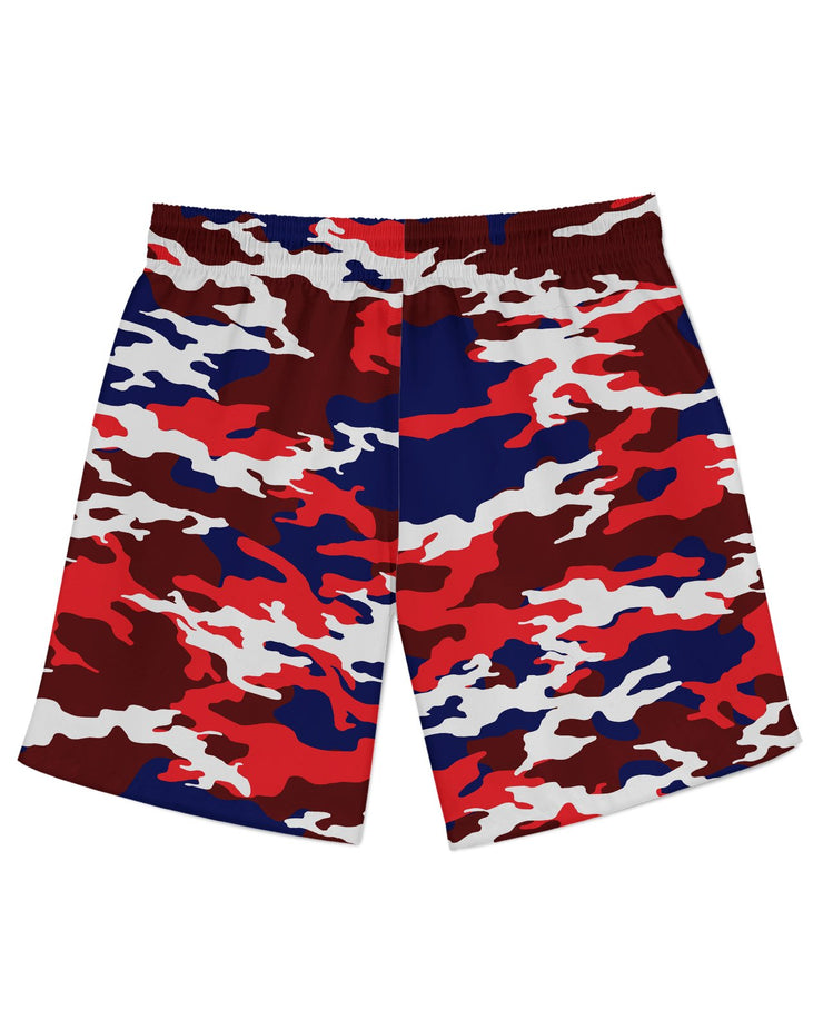 USA Camo Athletic Shorts