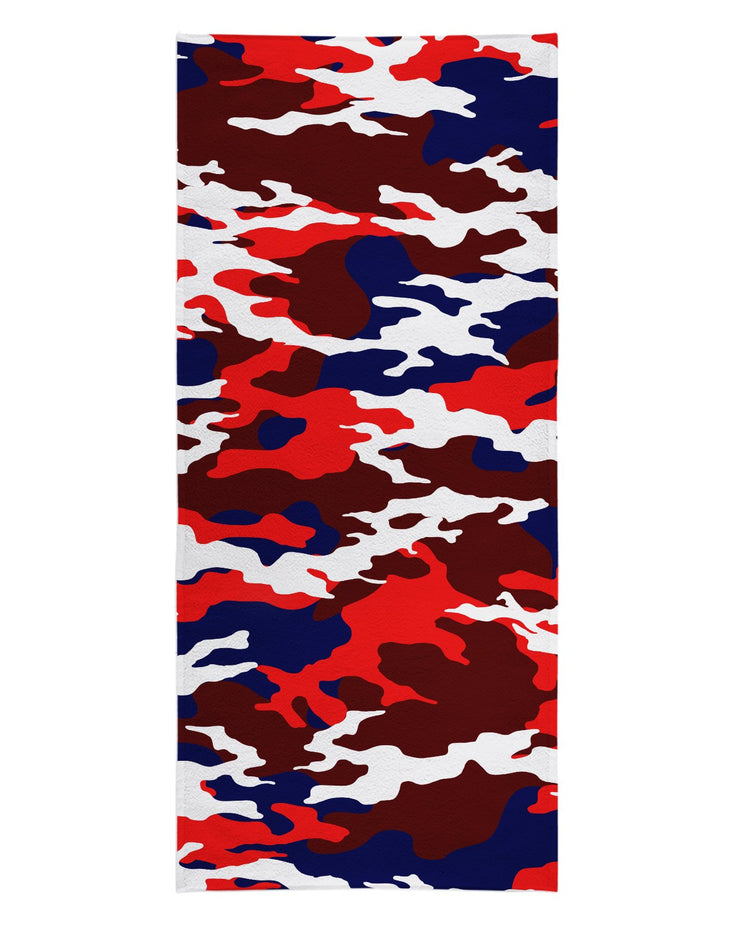 USA Camo Beach Towel