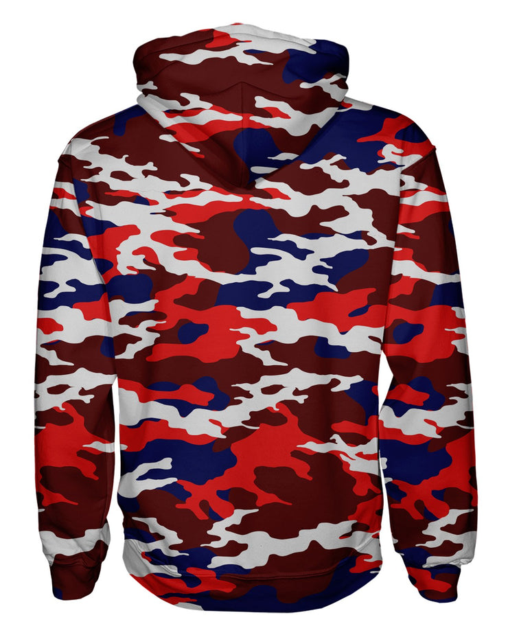 USA Camo Pullover Hoodie