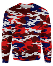 USA Camo Sweatshirt