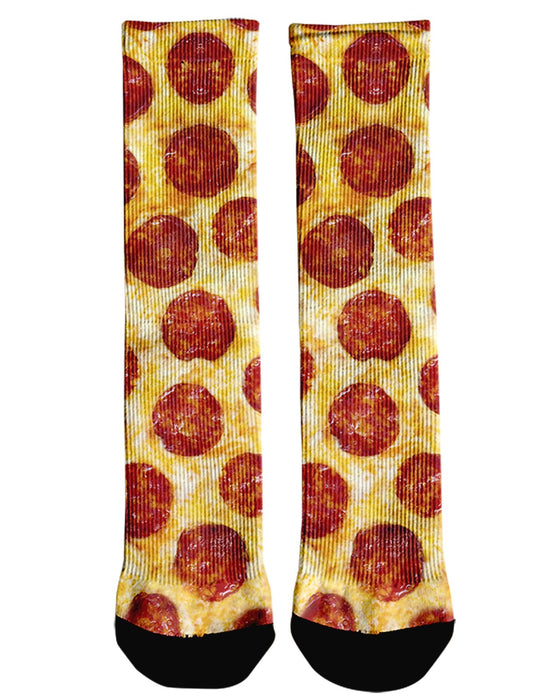 Pepperoni Pizza Crew Socks