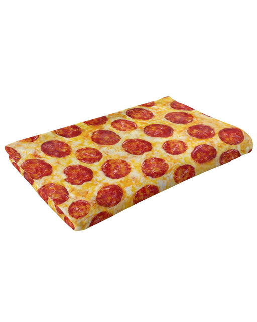 Pepperoni Pizza Fluffy Blanket