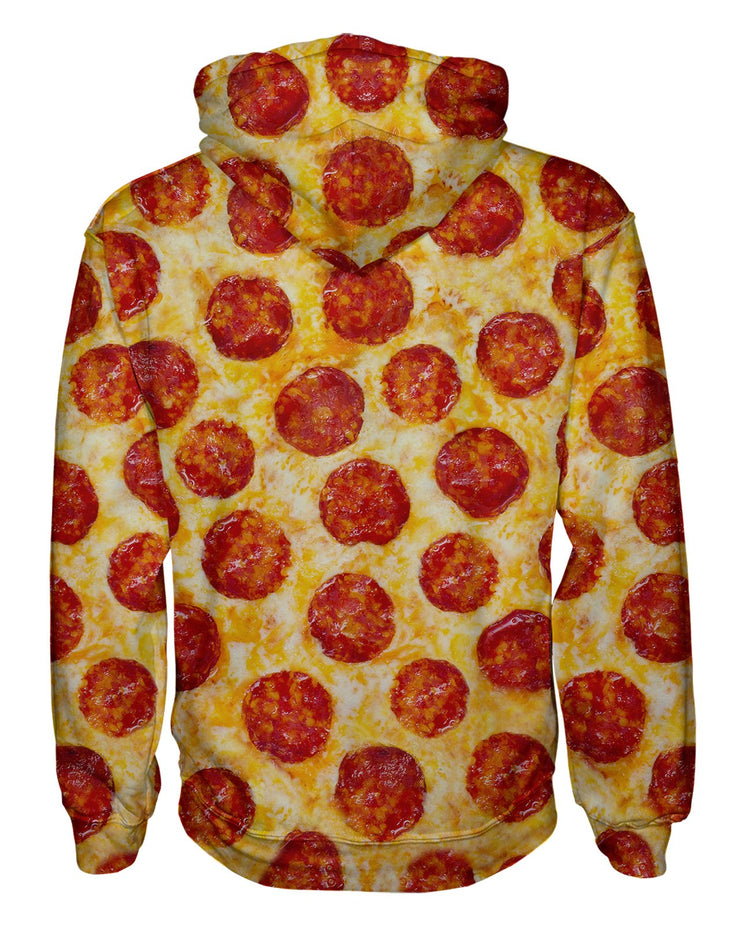 Pepperoni Pizza Pullover Hoodie