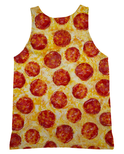 Pepperoni Pizza Tank-Top