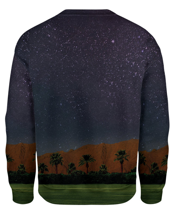 Coachella Field Night Sweatshirt