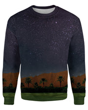 Coachella Field Night printed all over in HD on premium fabric. Handmade in California.