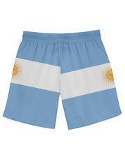 Argentina Flag Athletic Shorts