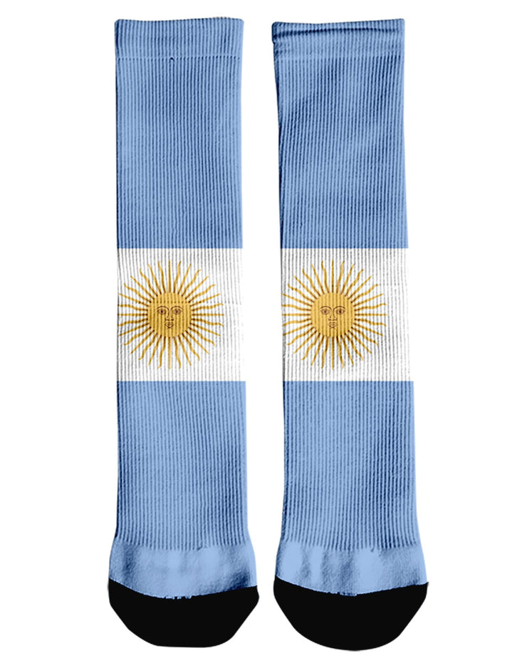 Argentina Flag Crew Socks