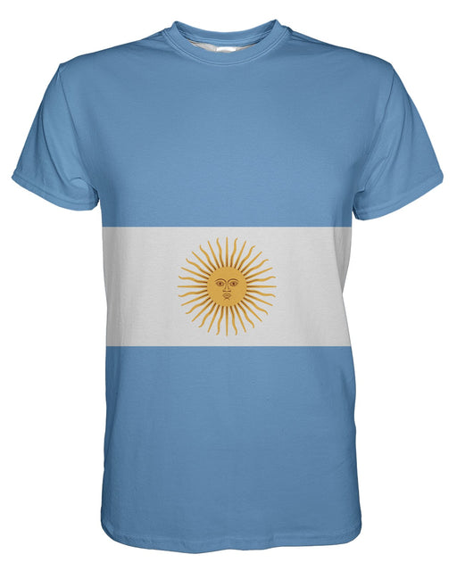 Argentina Flag printed all over in HD on premium fabric. Handmade in California.