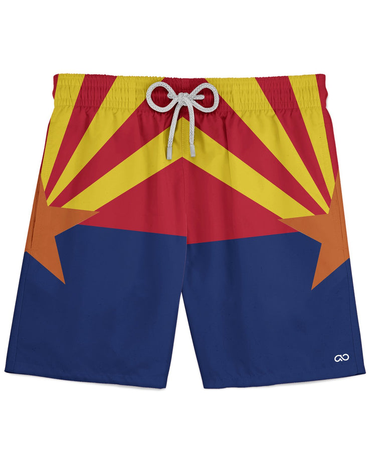 Arizona Flag Athletic Shorts