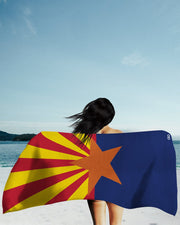 Arizona Flag Beach Towel