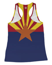 Arizona Flag Racerback-Tank