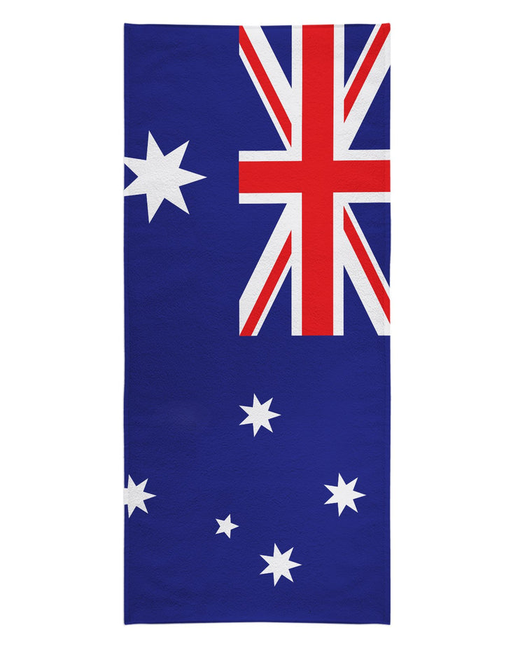 Austraila Flag Beach Towel