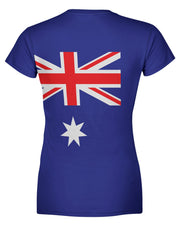 Austraila Flag Women's T-shirt
