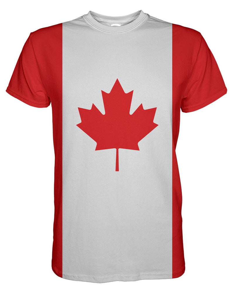 Canada Flag printed all over in HD on premium fabric. Handmade in California.