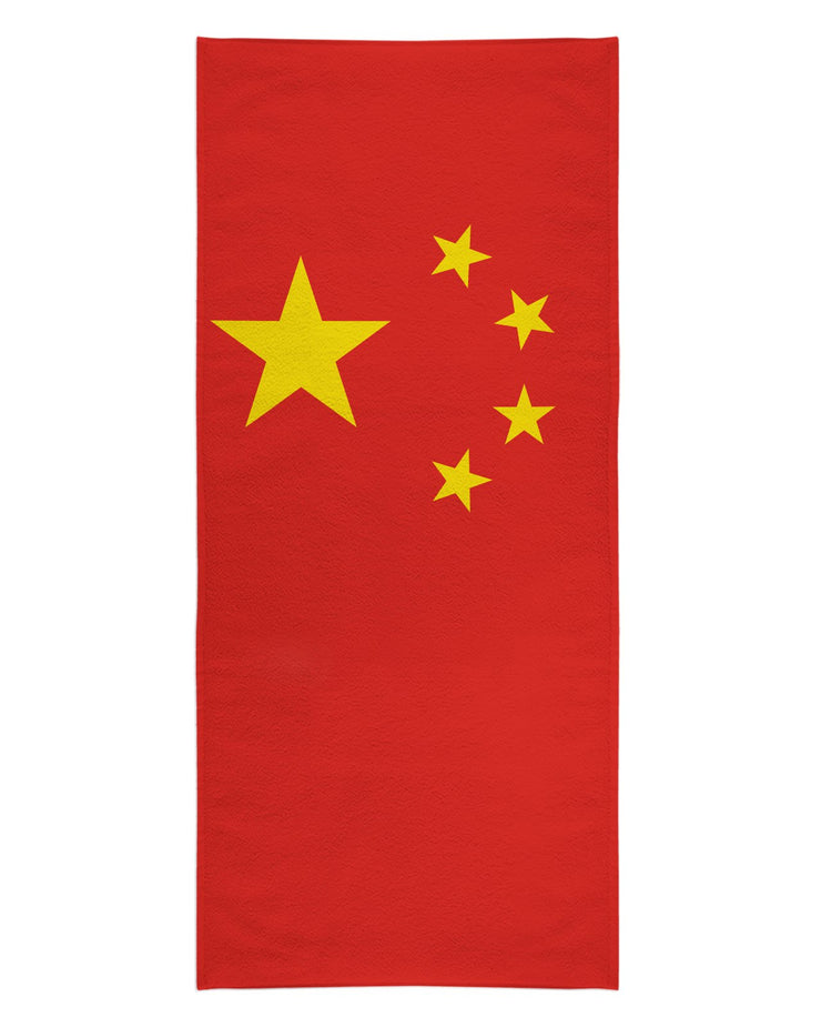 China Flag Beach Towel