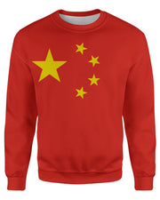 China Flag Sweatshirt