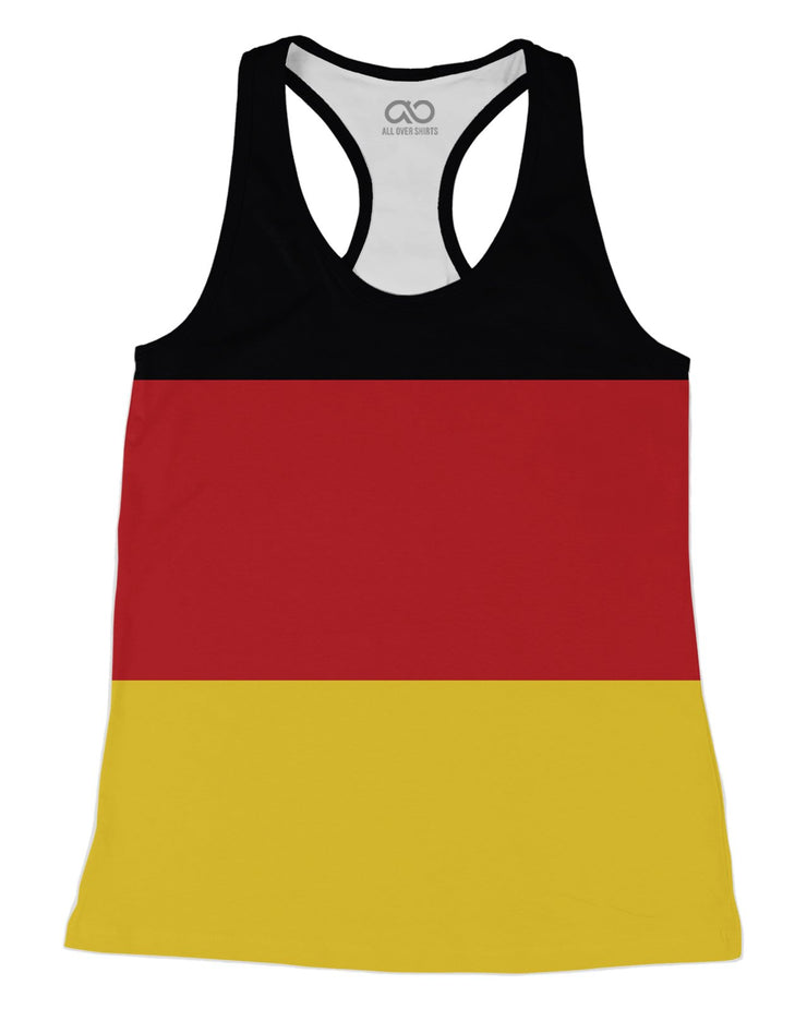 Germany Flag Racerback-Tank