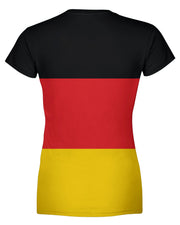 Germany Flag Women's T-shirt