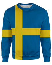 Sweden Flag Sweatshirt