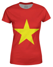 Vietnam Flag Women's T-shirt