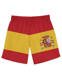Spain Flag Athletic Shorts