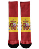 Spain Flag Crew Socks
