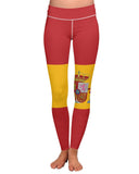 Spain Flag Yoga Leggings