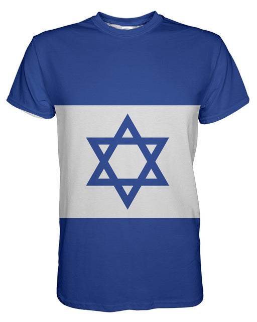 Israel Flag printed all over in HD on premium fabric. Handmade in California.