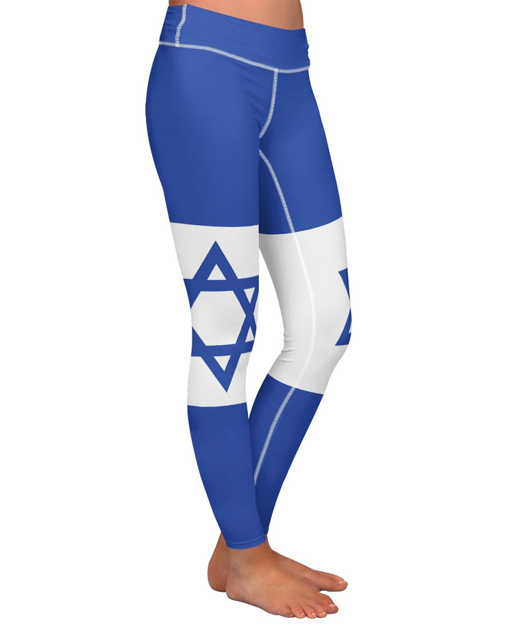 Israel Flag Yoga Leggings