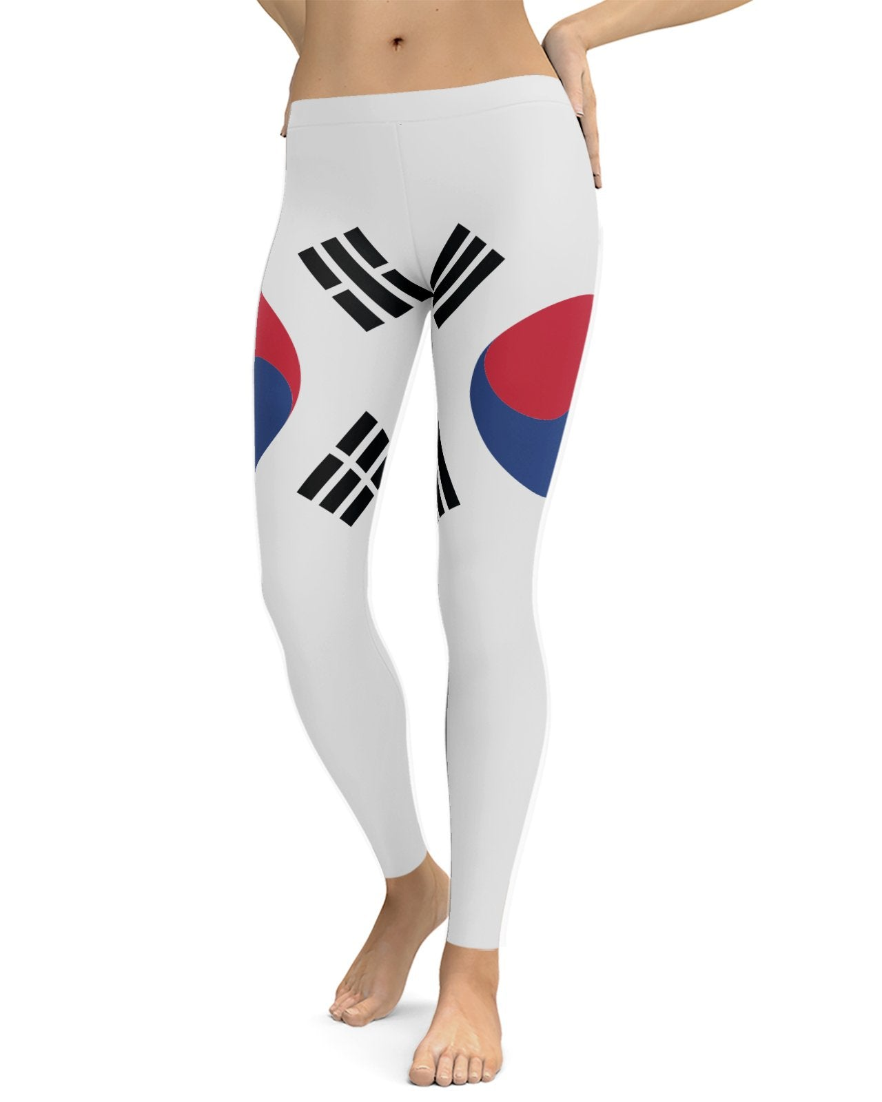 South Korea Flag Leggings