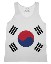 South Korea Flag Tank-Top