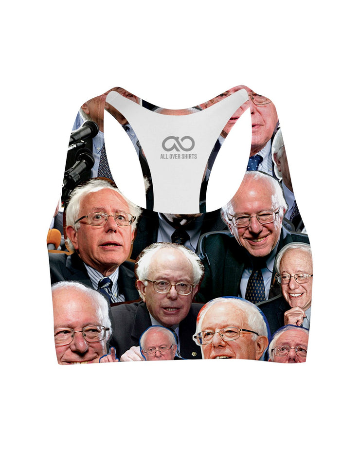 Bernie Boy printed all over in HD on premium fabric. Handmade in California.