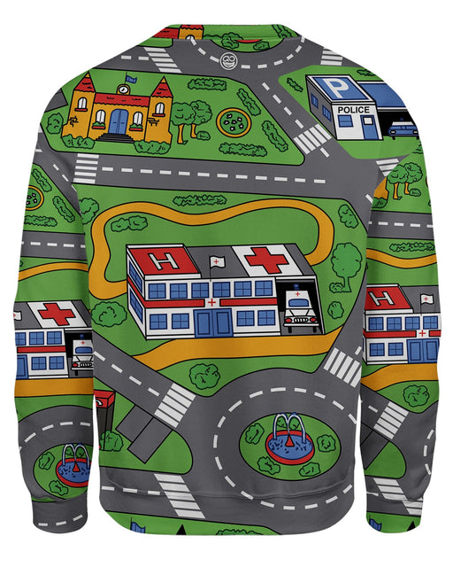 Car Rug Sweatshirt