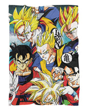 Dragon Ball Z Fluffy Micro Fleece Throw Blanket