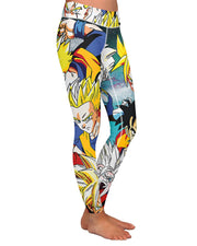 Dragon Ball Z Yoga Leggings