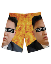 Kim Jong Un Trust no Bitch Athletic Shorts