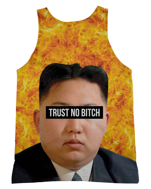 Kim Jong Un Trust no Bitch Tank-Top